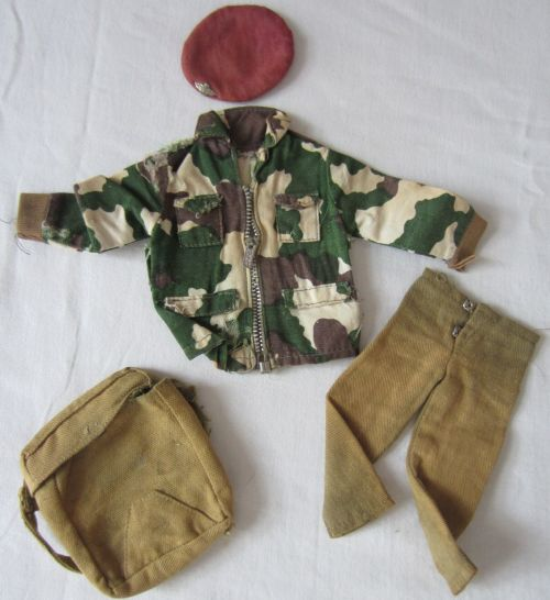 Vintage Action Man Army Clothes Rucksack