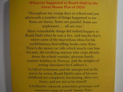 Biographies Memoirs Roald Dahl Biographies Boytales Of