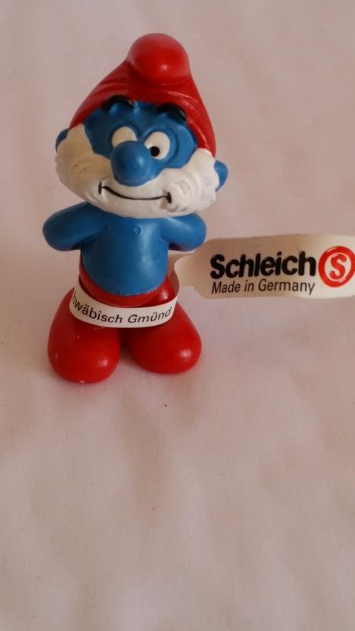 2004 SCHLEICH 20533 - CLASSIC PAPA SMURF - SCHLEICH PEYO - MADE IN GERMANY