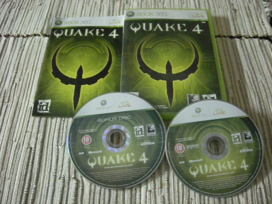 Games - XBOX 360 QUAKE 4 SPECIAL EDITION / ORIGINAL PRODUCT