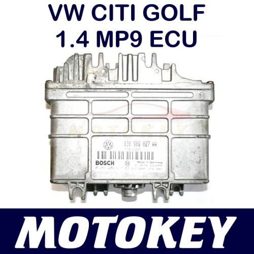 VW Polo Classic / Polo Player / CITI Golf 1 4 MP9 ECU - PLUG & PLAY !!!
