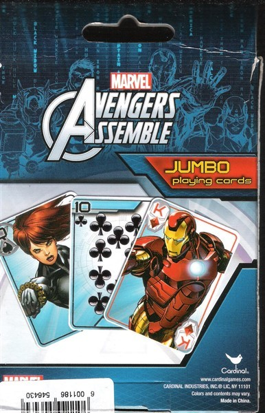 Other Board Games & Cards - Marvel Avengers Assemble: Jumbo