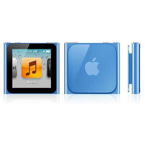 Image result for ipod nano 6th generation blue