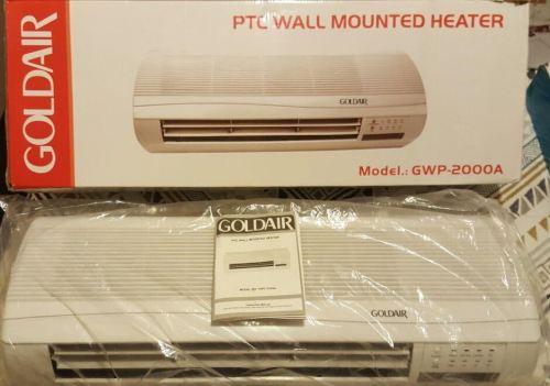 Other Small Appliances Goldair Ptc Wallmounted Fan