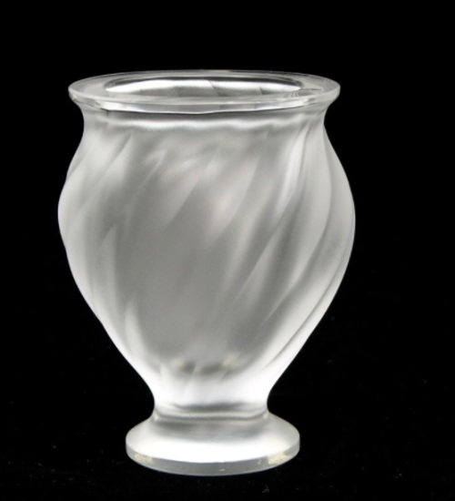 Other Glassware Lalique Birds In Flight Vase Was Sold For R4