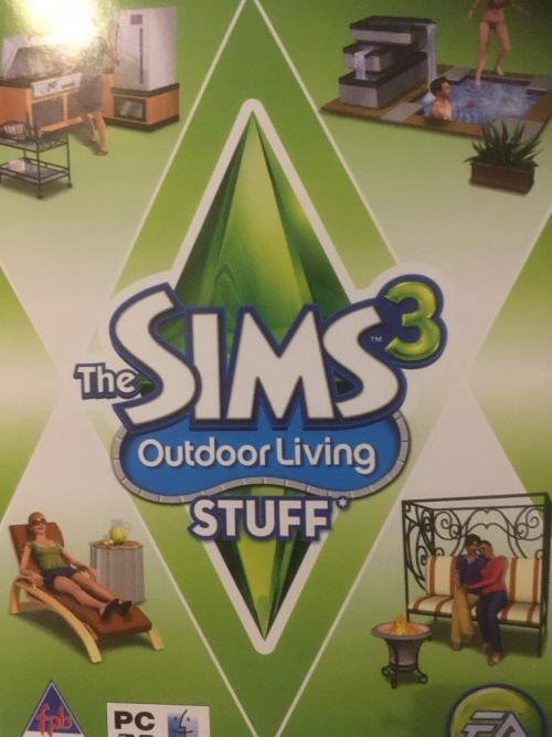 PC - The Sims 3 - Outdoor Living Stuff
