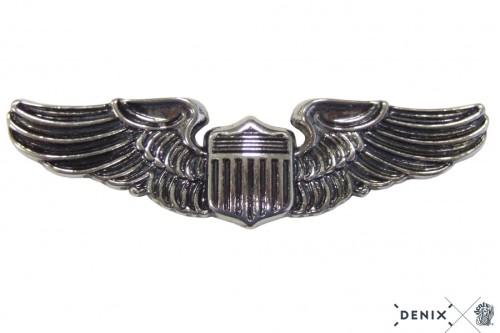 German air force pilot wings metal badge  Replica