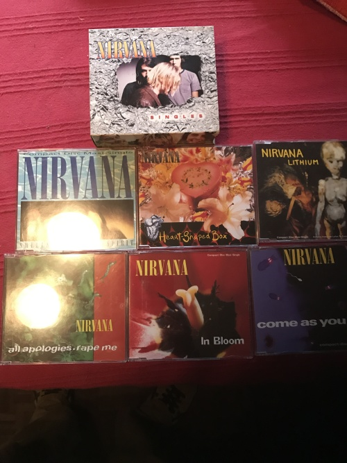 nirvana singles box set