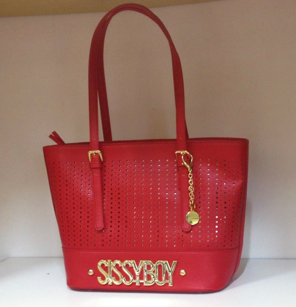 Sissy Boy Lola Tote Red Handbag