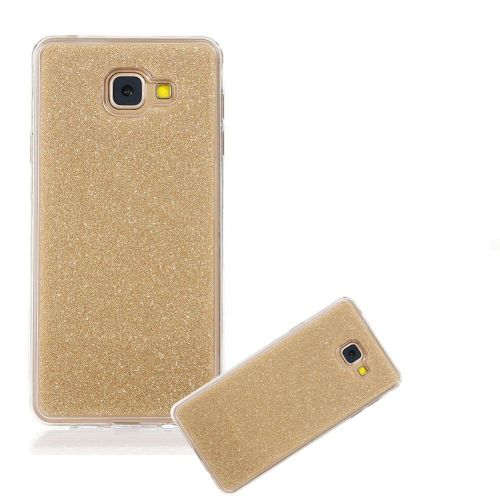 cases covers skins glitter silicone case with protective bumper for samsung a5 2017 golden. Black Bedroom Furniture Sets. Home Design Ideas