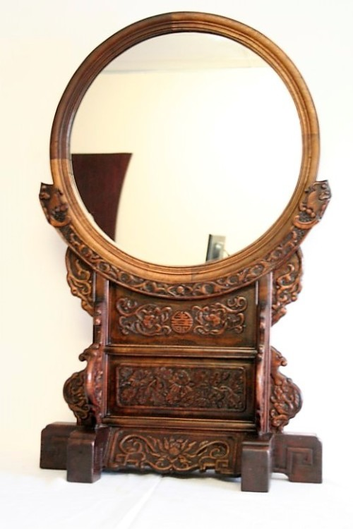 Frames Amp Mirrors A Spectacular Xl Antique Oriental Hand