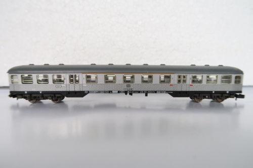 N scale Fleischmann 8121 Coach  Silberling  1st /& 2nd class  DB