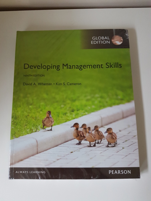 Business & management sciences developing management skills by.