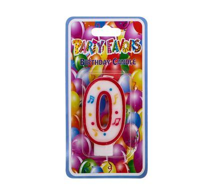 2 X Candles Birthday Large Number 0 To 9 10 Cm