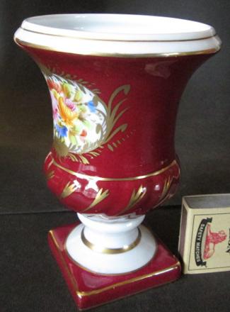French Porcelain Limoges Vase Was Sold For R18600 On 13 Nov At 20