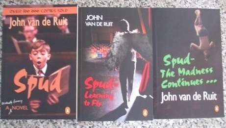 fiction and spud 28 books based on 2 votes: spud: exit, pursued by a bear by john van de ruit,  spud by john van de ruit, ruby red by linzi glass, the year.