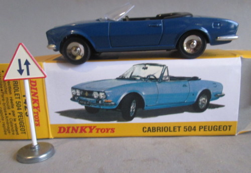 Models Dinky 1423 Peugeot 504 Cabriolet New Boxed Was Listed