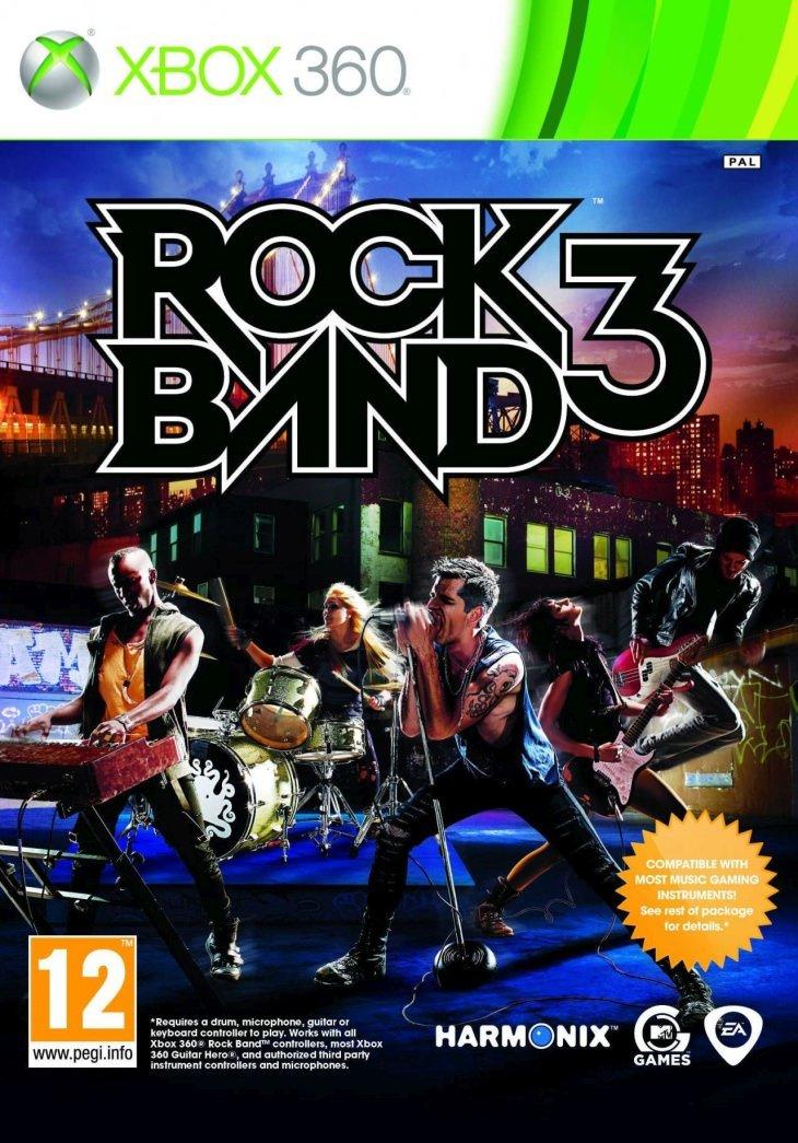 XBOX 360 ROCK BAND 3 / ORIGINAL PRODUCT / SAG / BID TO WIN