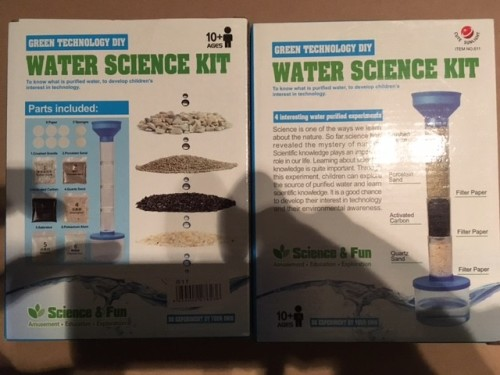 Kids Water Science Kit - Ideal for +10yrs (NEW)