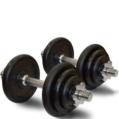 Adjustable Dumbbells South Africa: Brand New Set 20kg Dumbbells Adjustment Type