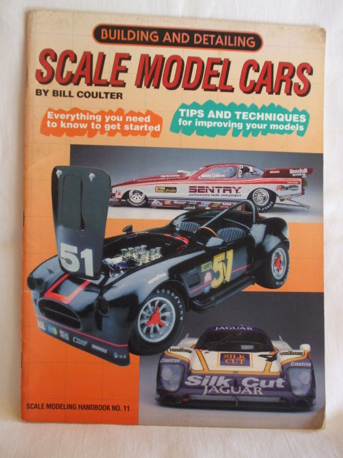Building and Detailing Scale Model Cars by Bill Coulter