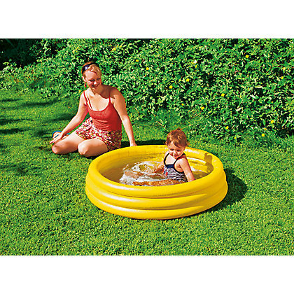 Paddling pools sand pits 3 ring pool 80x35cm was for Paddling pools deals