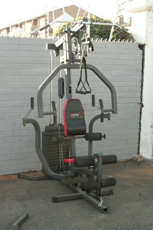 Home gym and weights for sale junk mail