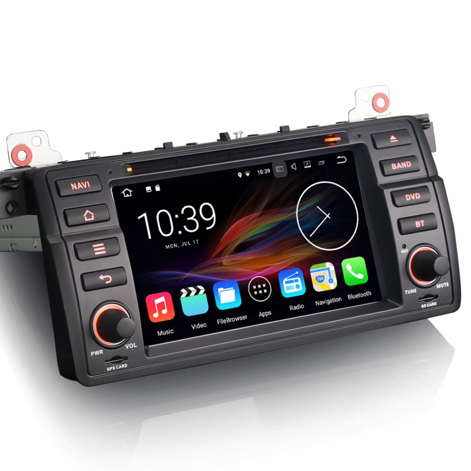 """Bmw Z3 Radio Code: 7"""" Car Stereo Android 7.1 DAB+ DVR"""