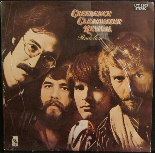 classic rock creedence clearwater revival pendulum lp. Black Bedroom Furniture Sets. Home Design Ideas