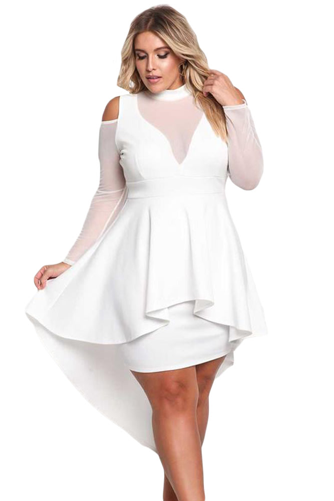 White Dresses For Plus Size Ibovnathandedecker