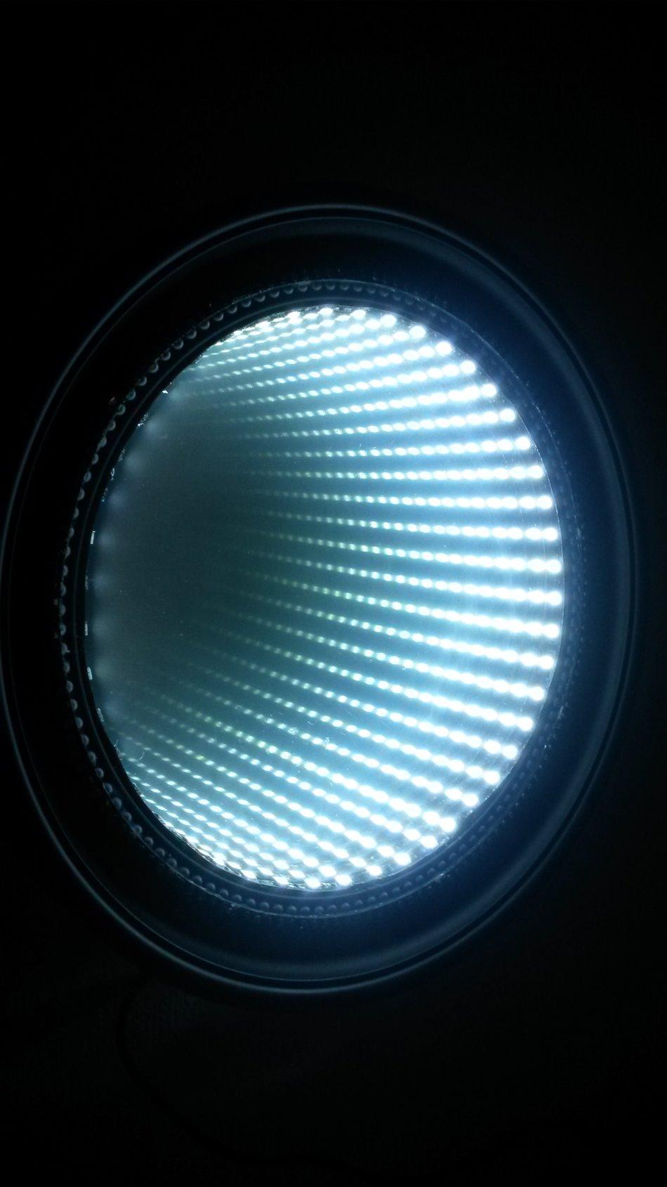 Infinity Mirror Ceiling Light Mirror Ideas