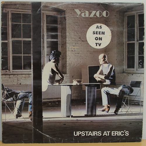 Pop Rock Upstair S At Erics Yazoo Vinyl Lp Was Sold For
