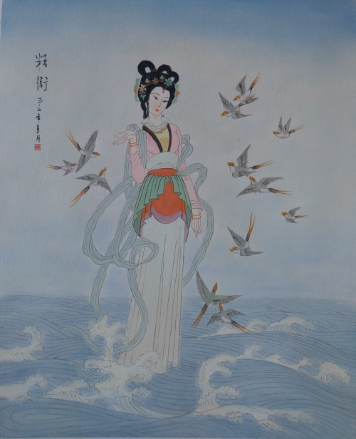 JAPANESE PAINTING - !!!! CRAZY ART SALE !!!!