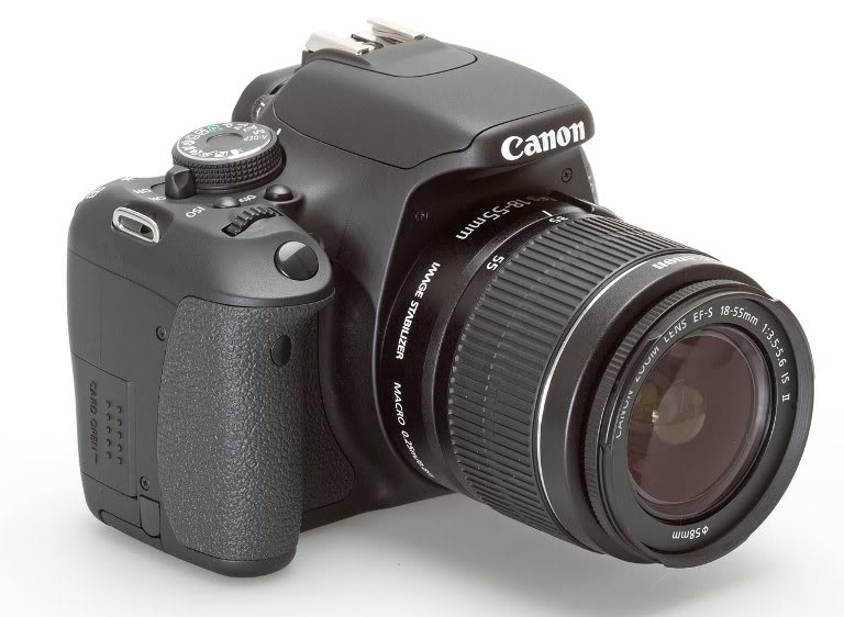 Canon EOS 600D DSLR CAMERA with Canon 18-55 IS Lens Camera Kit