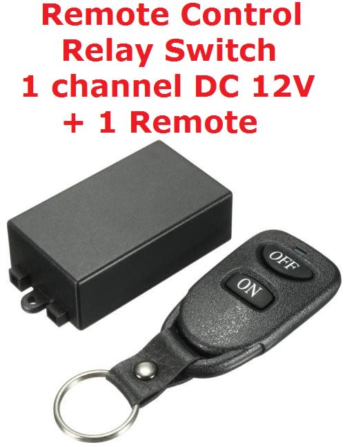 Other Electronics Remote Control Relay Switch 1 Channel