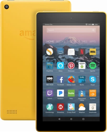 devices amazon fire 7 tablet with alexa 7 display 8gb with special offers red was sold. Black Bedroom Furniture Sets. Home Design Ideas