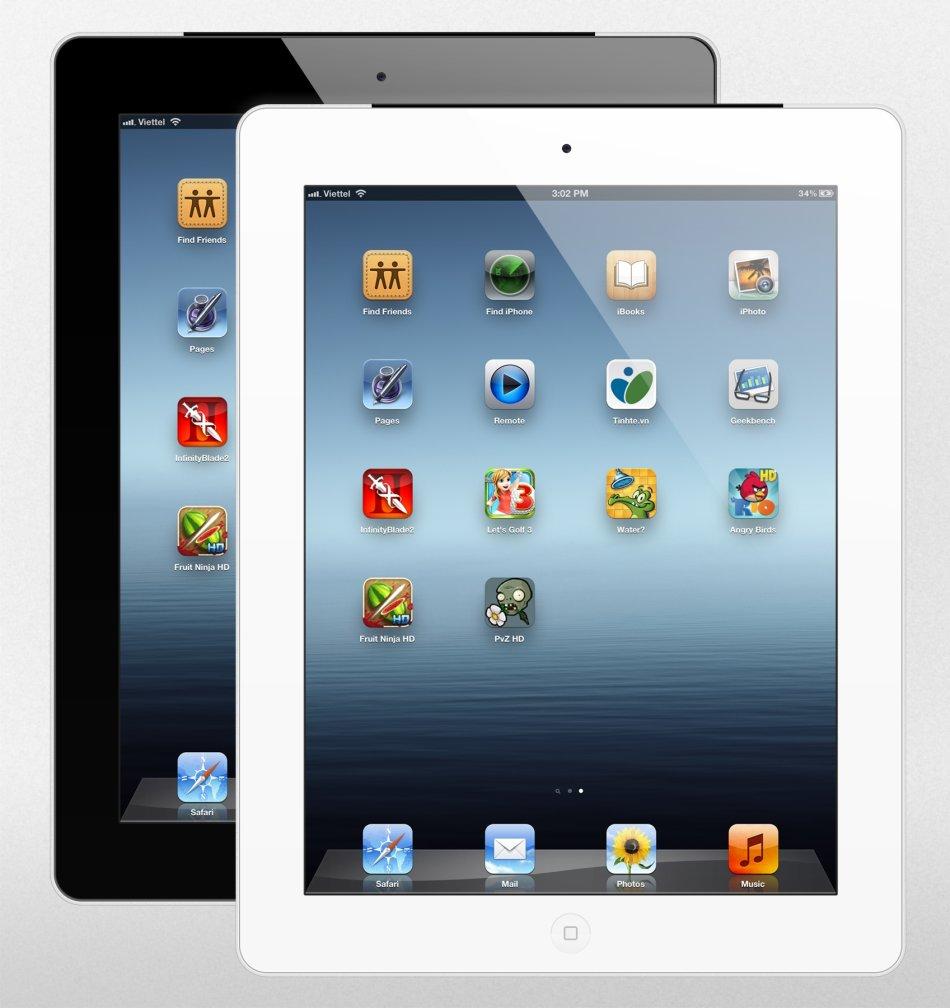 Devices Ipad 3 16gb Cellular Wifi Md369so A White Mini 1 Genuine Apple Ipad3