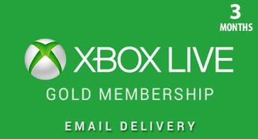 time cards   xbox live 3 month gold membership digital