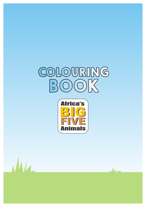Other Children\'s & Baby Books - Colouring Books (Africa BIG 5 animal ...