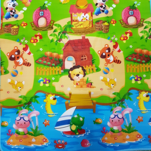 Soft Toys Large Baby Play Floor Mat Ideal For Crawling