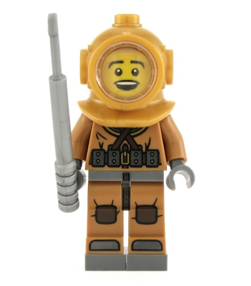 Other LEGO - LEGO DEEP SEA DIVER (Number 6 of 16) SERIES 8 ...