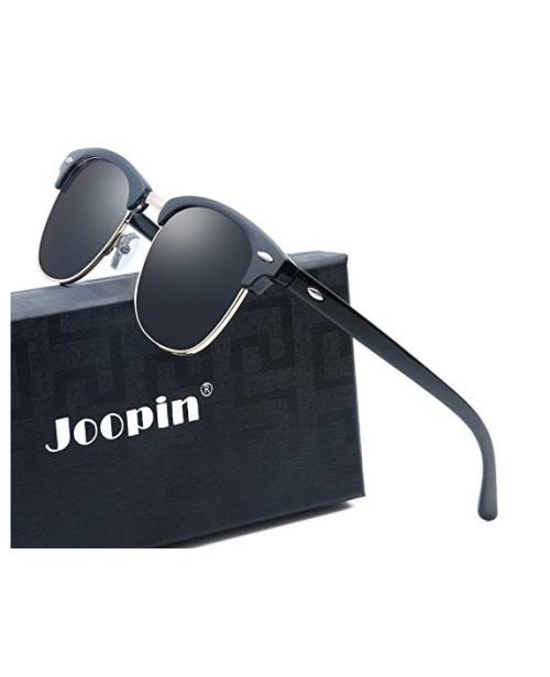 e8b2bfa5eb Eyewear - Joopin Semi Rimless Polarized Women Men Retro Sunglasses ...