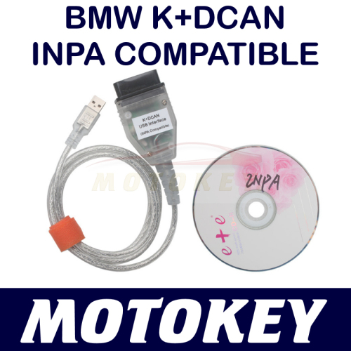 BMW INPA - USB K+DCAN - INPA COMPATIBLE - Inlcuding Software