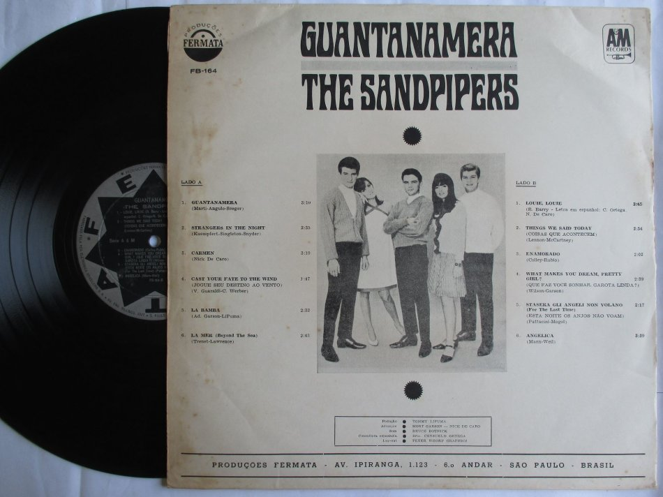 Other Tapes Lps Amp Other Formats The Sandpipers