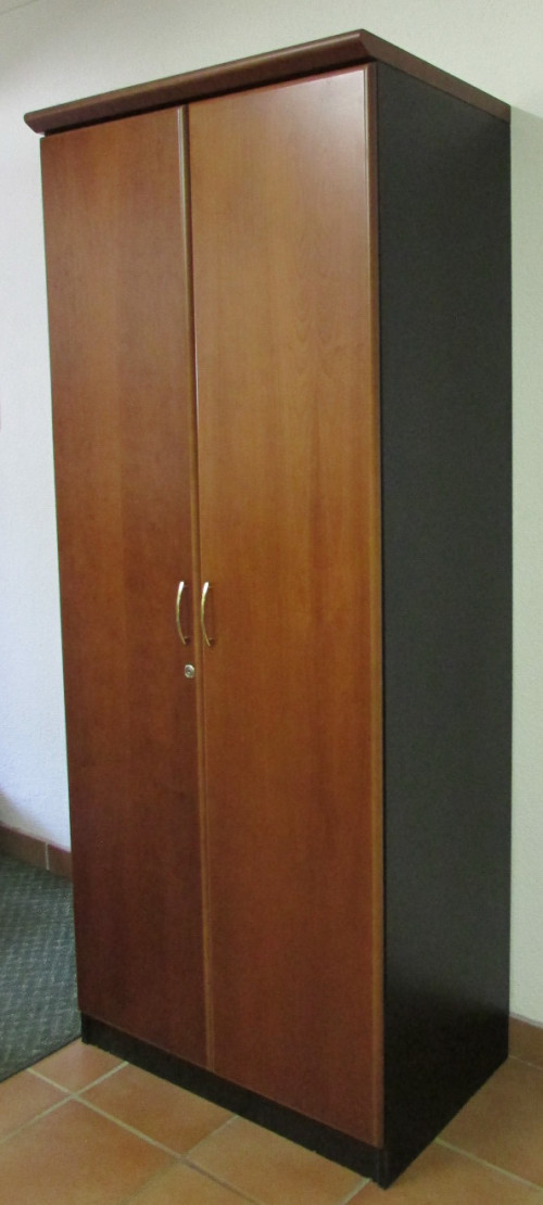 Furniture - BEAUTIFUL CHERRYWOOD OFFICE WARDROBE CABINET ...
