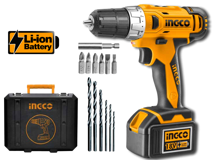drills ingco 18v li ion cordless drill was sold for r1. Black Bedroom Furniture Sets. Home Design Ideas