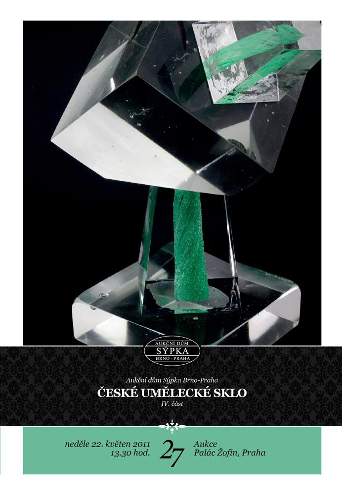 sale catalogue Prague 2011 Czech Art Glass IV