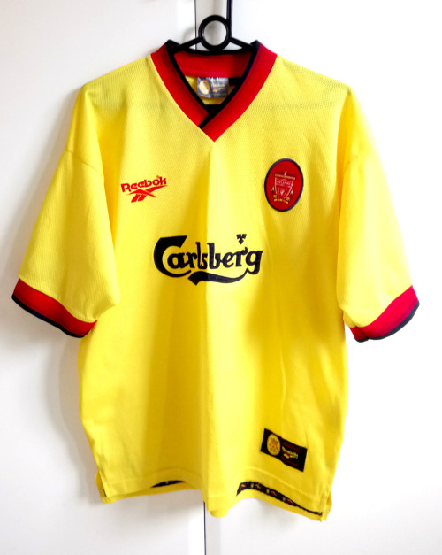 more photos 32316 93d47 LIVERPOOL 1997/1998 Reebok Away Soccer Jersey