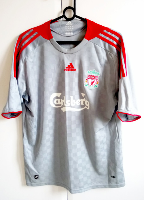 191559e8d Soccer - LIVERPOOL 2008 2009 Adidas Away Jersey - FERNANDO TORRES ...