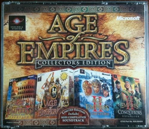 Age of Empires II The Age of Kings Collector's Edition (No Box) - PC |  bidorbuy co za